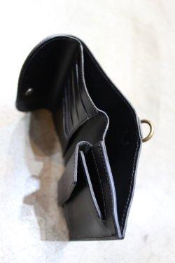 画像5: 「MAGNET」 Three Fold Wallet マグネット スリーフォールドウォレット(3つ折サイフ) [WOOD BLACK]