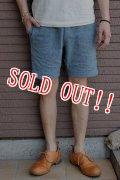 [再入荷!!]「Jackman」 Nep Sweat Shorts ジャックマン ネップスウェットショーツ 「ブルー」