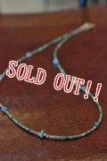 「RE.ACT」 Multi Beads Accessory リアクト マルチビースアクセサリー ネックレス・ブレスレット [ターコイズ]