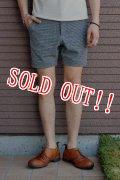 「Jackman」 Nep Sweat Boder Shorts ジャックマン ネップスウェットボーダーショーツ JM7686 「ヘザーグレー」