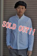 「Jackman」 OXFord Baseball B.D.Shirts ジャックマン オックスフォード ベースボール ボタンダウンシャツ JM3050 「ホワイト」