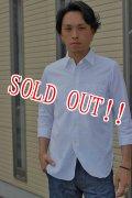 「JELADO」 Upperside Shirts ジェラード アッパーサイドシャツ 7分袖 [ホワイト]