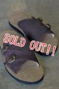 「JELADO」 Leather Sandals PIT ジェラード レザーサンダル ピット [チョコレートブラウン]