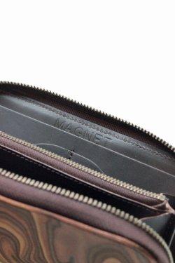 画像5: 「MAGNET」 Long Zip Wallet マグネット ロングジップウォレット [WOOD BROWN]
