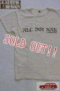 「J.AUGUR DESIGN」 T-SHIRTS AIC IXH XAN 2015FW Lot No.009 ジュディーオーガーデザイン ステンシル Tシャツ [アイボリー]