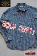 「JOHN GLUCKOW」 by 「JELADO」  Professors Shirts   ジョングラッコー ジェラード  プロフェッサーシャツ JG11112 [インディゴチェック]