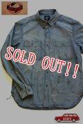 「JELADO」 Naval Shirts Vintage Finish ジェラード ナーバルシャツ ヴィンテージフィニッシュ CT11109  [フェイドインディゴ]