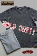 「Jackman」 Pigment T-Shirts  ジャックマン ピグメント ポケットTシャツ  JM5782 「アスファルト・アイスシルバー」