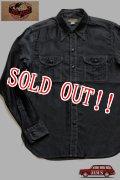 「JELADO」 Pressman Shirts ジェラード プレスマンシャツ パラフィン加工 AG13103 [ブラック]