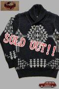 「JELADO」 Salem Knit-Shawl Collar ジェラード セーラムニット セーター ショールカラー CB13806 [ブラック]