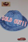「JELADO」 Denim Army Hat Vintage Finish ジェラード  デニム アーミーハット  CT13705 [ヴィンテージ インディゴ]