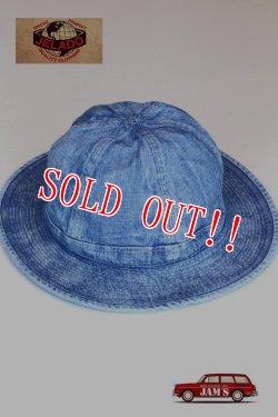 画像1: 「JELADO」 Denim Army Hat Vintage Finish ジェラード  デニム アーミーハット  CT13705 [ヴィンテージ インディゴ]