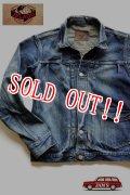 「JELADO」 Novel Classic Jacket Vintage Finish ジェラード ノーベルクラシック 加工 デニムジャケット JP13415 [ヴィンテージ インディゴ]