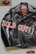 「JELADO」 Rebel Jacket  ジェラード レベルジャケット ダブルライダースジャケット ホースハイド SG13411 [ブラック]