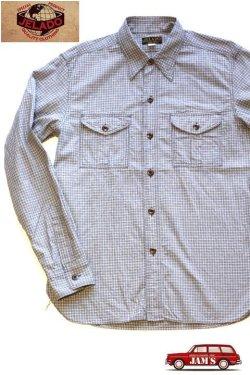 画像1: 「JELADO」Pressman Shirts ジェラード プレスマンシャツ AG21103 [ソルト&ペッパー]
