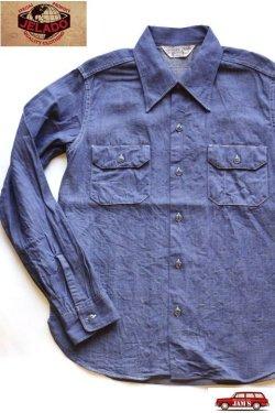 画像1: 「JELADO」 Override Shirts ジェラード オーバーライドシャツ デニム SG21110 [ジタンブルー]