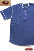 「JELADO」 S/S  Classic underwear ジェラード クラシック アンダーウェア 半袖Tシャツ ヘンリーネック JAGT-014 [ネイビー]