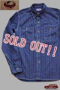 「JELADO」 Railroader Shirts ジェラード レイルローダーシャツ トランプ柄 JP21107 [インディゴウォバッシュ]