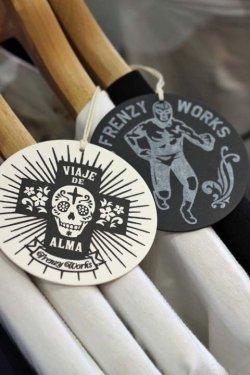 """画像5: 「FRENZY WORKS」MEXICAN SKULL Tee """"HOLA!!"""" フレンジーワークス メキシカンスカル プリントTシャツ [ホワイト]"""