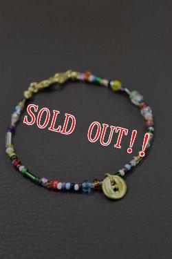 画像5: 「Button Works」 Beads Bracelet ボタンワークス ビーズブレスレット 「ゴールド・シルバー」