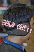 「Browns BEACH」 BBJ2_012 MOUTON EAR MUF by FULLCOUNT ブラウンズビーチ ムートンイヤーマフ フルカウント社製 [オックスフォードグレー(ブラウン系)]