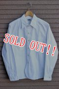 「Pherrows」771WS PINSTOLIPE WORK SHIRTS フェローズ ピンストライプ ワークシャツ  [ホワイト]