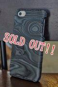「MAGNET」 iPhone 5・5s Leather Case マグネット アイフォン レザーケース [WOOD BLACK]
