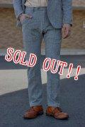 「Jackman」 Nep Sweat Trouser ジャックマン ネップスウェットトラウザー JM7676 「ヘザーグレー」