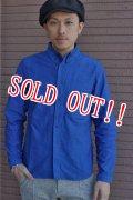 「Jackman」 OXFord Baseball B.D.Shirts ジャックマン オックスフォード ベースボール ボタンダウンシャツ JM3050 「ロイヤルブルー」