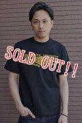 [再入荷!!]「JELADO」 Jelado official Tee ジェラード オフィシャルプリント 半袖Tシャツ [ブラック]