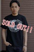 「JELADO」 Jelado official Tee II ジェラード オフィシャルプリント タイプ2 半袖Tシャツ [ブラック]