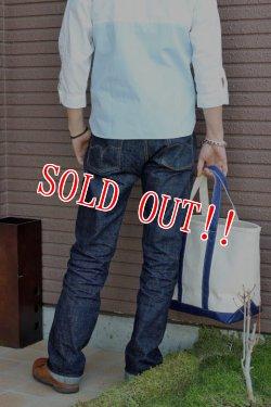 画像3: [限定生産500本]「Pherrows」DENIM PANTS #421 & TOTE BAG フェローズ バッファローホーン5周年記念モデル Lot 421 デニムパンツ トートバッグ付き [ワンウォッシュ]