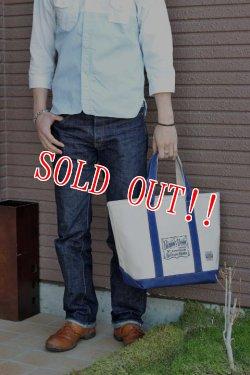 画像2: [限定生産500本]「Pherrows」DENIM PANTS #421 & TOTE BAG フェローズ バッファローホーン5周年記念モデル Lot 421 デニムパンツ トートバッグ付き [ワンウォッシュ]