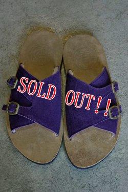 画像2: 「JELADO」 Leather Sandals PIT ジェラード レザーサンダル ピット [グレープ]
