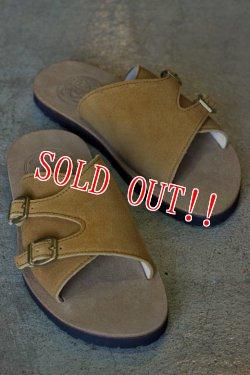 画像1: 「JELADO」 Leather Sandals PIT ジェラード レザーサンダル ピット [ラテ]