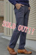 「Jackman」 Wool Mix Sweat Trousers ジャックマン ウールミックストラウザーズ JM7755 「ネイビー」