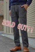 「Jackman」 Wool Mix Sweat Trousers ジャックマン ウールミックストラウザーズ JM7755 「チャコール」