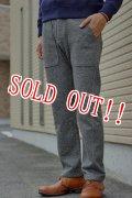 「Jackman」 Wool Mix Sweat Trousers ジャックマン ウールミックストラウザーズ JM7755 「ヘザーグレー」
