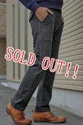 「Jackman」 Wool Mix Sweat Trousers ジャックマン ウールミックストラウザーズ JM7755 「ブラック」