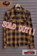 「JELADO」 Western Shirts ジェラード オンブレチェック コットンウエスタンシャツ JPSH-1502 [ゴールド]
