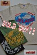 「JELADO」 Jelado official Tee II  ジェラード オフィシャルプリント ロゴ2型 半袖Tシャツ [バニラ・グラスグリーン・ブラック]