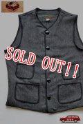 「JELADO」 Squad Vest ジェラード スクワッド ベスト AG02502M [マーブルブラック]
