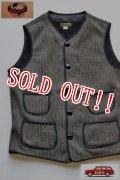 「JELADO」 Squad Vest ジェラード スクワッド ベスト コットン ビーチクロスベスト AG02502F [フレイクブラック]