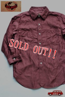 画像1: 「JELADO」 Upperside Shirts ジェラード アッパーサイドシャツ AG02106 [ワイン]