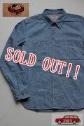 「JELADO」 Railroder Shirts ジェラード レイローダーシャツ JP02102 [ライトインディゴ]