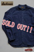 「Jackman」 Baseball Flannel Shirts ジャックマン ベースボール フランネルシャツ JM3131 「ネイビー」