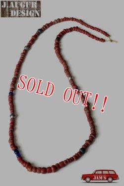 画像1: 「J.AUGUR DESIGN」 Trade Wind Beads Necklace  ジュディーオーガーデザイン トレードウインドウ ビーズ ネックレス  [Type. D]