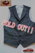 「JELADO」×「COPANO」 Harlem Vest  ジェラード×コパノ ハーレムベスト AG03505 [フレイクグレー]