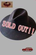 「JELADO」 McCarty Cowboy Hat ジェラード マッカーティー カウボーイハット ロングブリム [ブラウン]