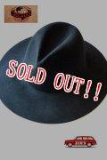 「JELADO」 McCarty Cowboy Hat ジェラード マッカーティー カウボーイハット ロングブリム [ブラック]